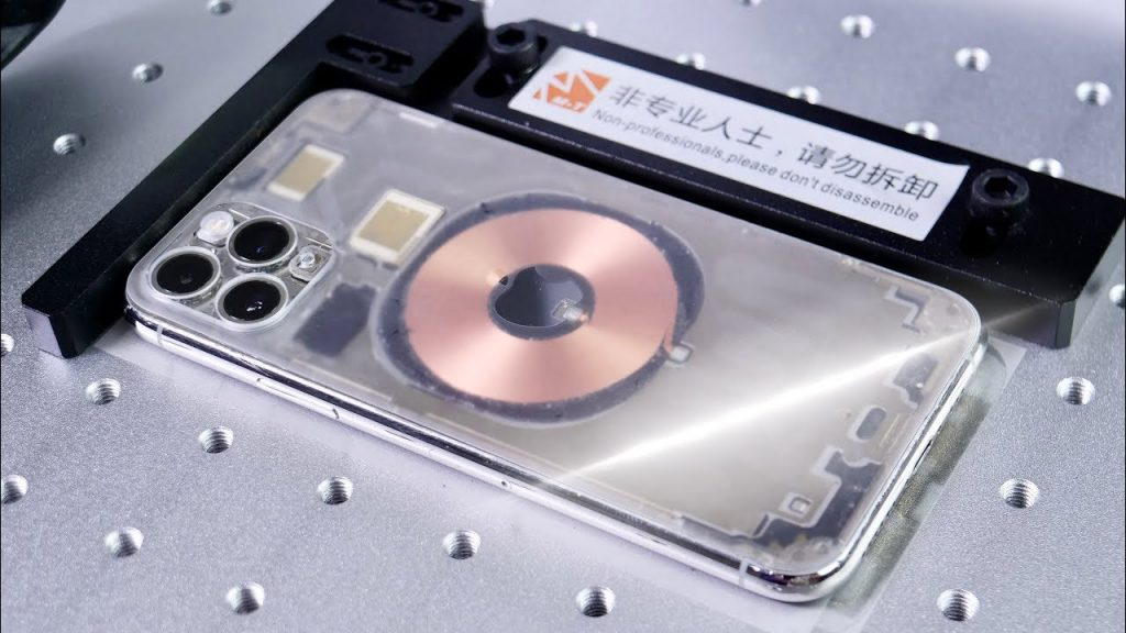 zamena zadnjeg stakla iphone 11 pro MAX laser